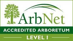 ArbNet - Accredited Arboretum - Level 1
