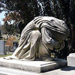 Weeping Lady Statue